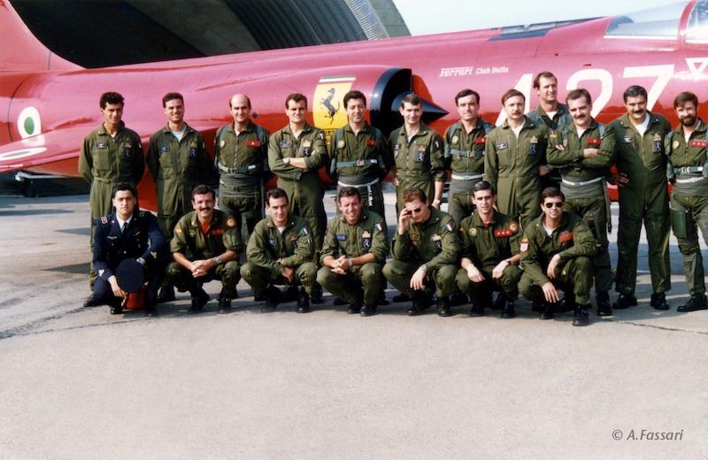SQUADRON EXCHANGES 1989 l'ALA 15 dell'Ejercito del Aire a Grosseto