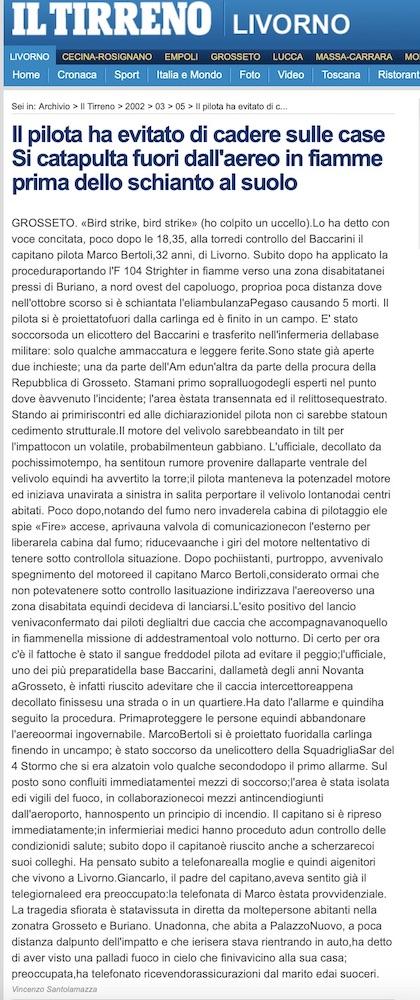 Incidente Bertoli 2002